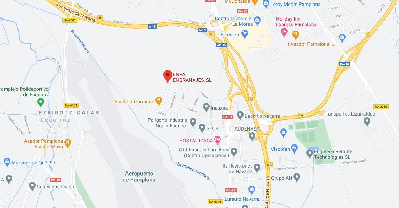 Localización Enpa Engranajes